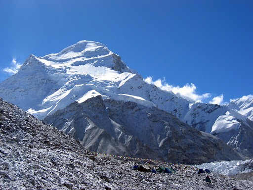 Mt. Cho Oyu Expedition (8188 M)   Tibet Side